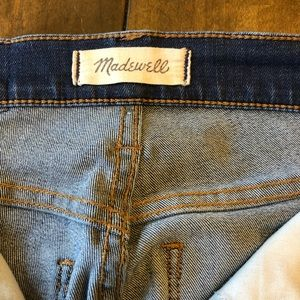 "Madewell - 10"" rise skinny jeans 24 waist"